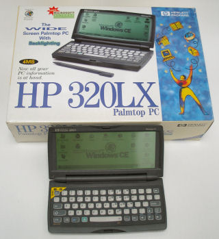 HP320LX With Box