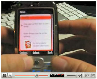 MSN Direct for Windows Mobile YouTube demo